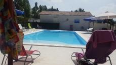 La piscine rénovée en 2018