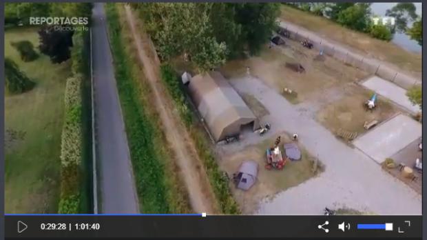 Le camping sur TF1